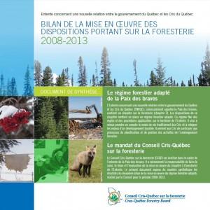 Bilan 2008-2013